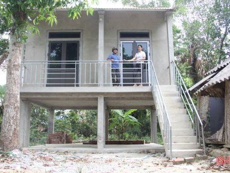 Bộ Xây dựng đề nghị nhân rộng nhà chống lũ cho miền Trung