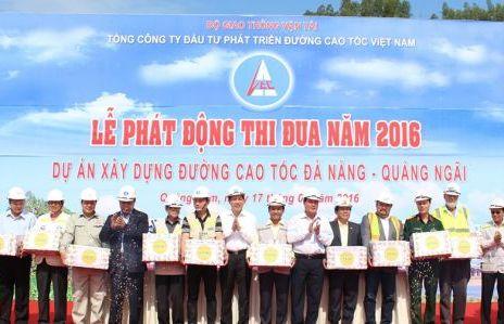 Dự án thi công đường cao tốc Bắc - Nam đoạn Đà Nẵng - Quảng Nam