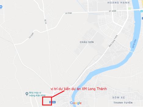Thủ tướng Chính phủ bổ sung quy hoạch dự án nhà máy Xi măng Long Thành tỉnh Hà Nam